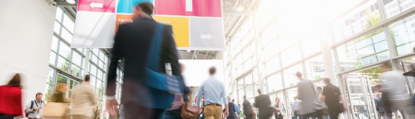 Trade Booth 101: How to Get Noticed on a Crowded Expo Floor