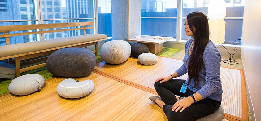 The Power of an Employee Wellness Room