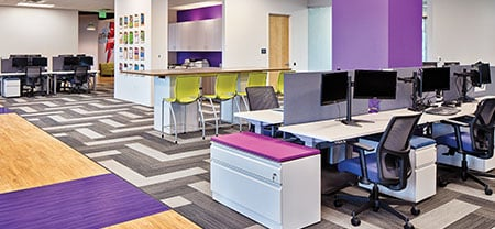 How an Office Transformation Replaced Cubicles with Community