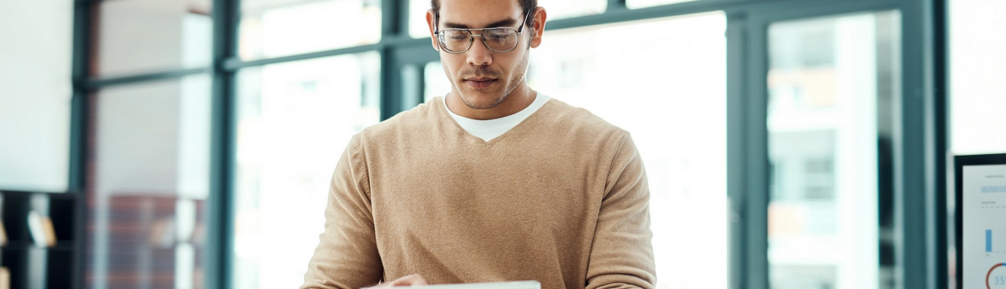 An employee using their personal tablet for work purposes.