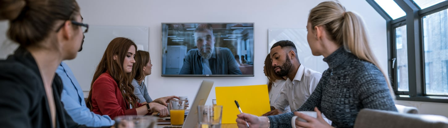 Video conferencing can clear up communications