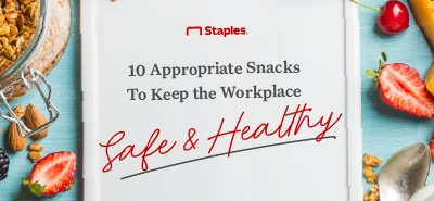 The 2020 Guide to Healthy Snacks For Work - 10 Great Choices