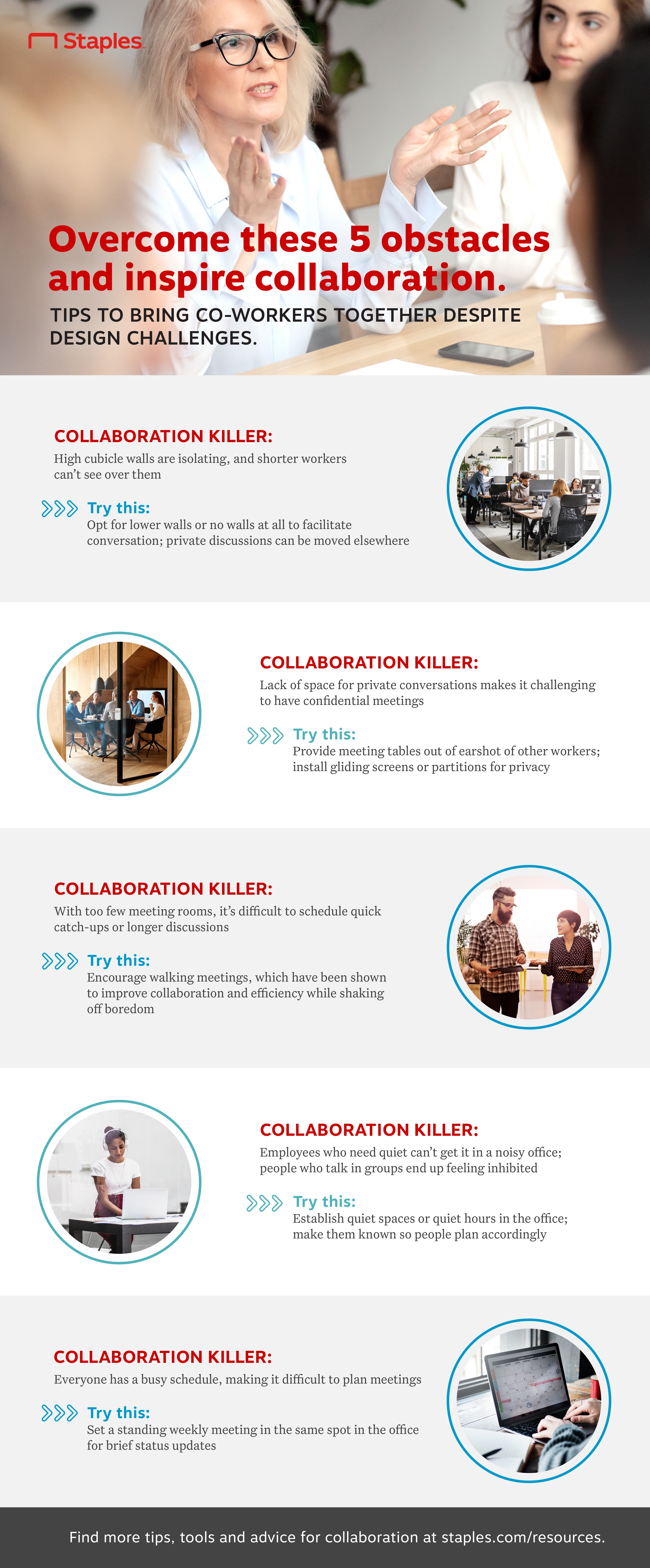 Overcome Collaboration Killers in Your Workspace