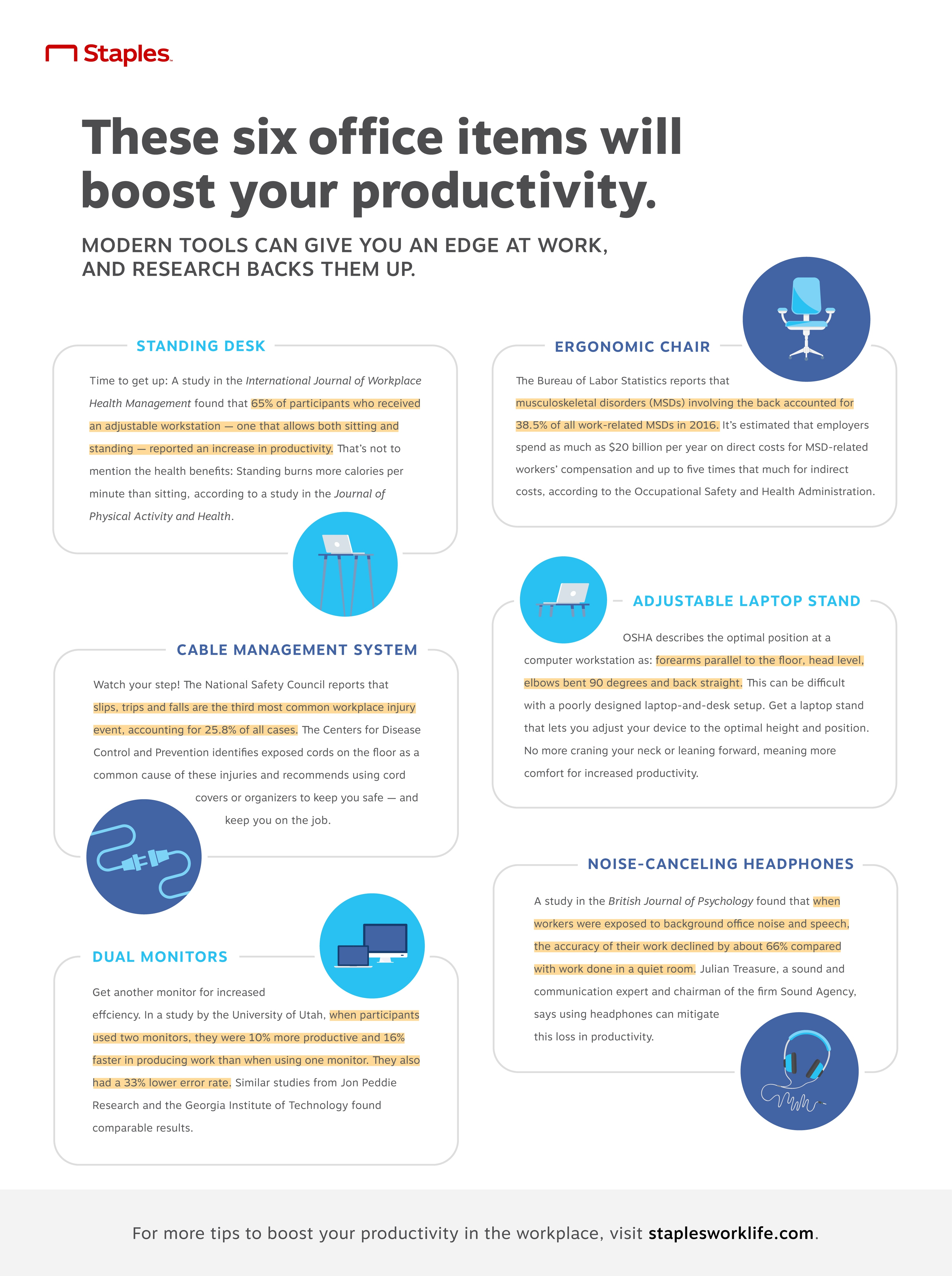The Office Items You Need to Boost Productivity