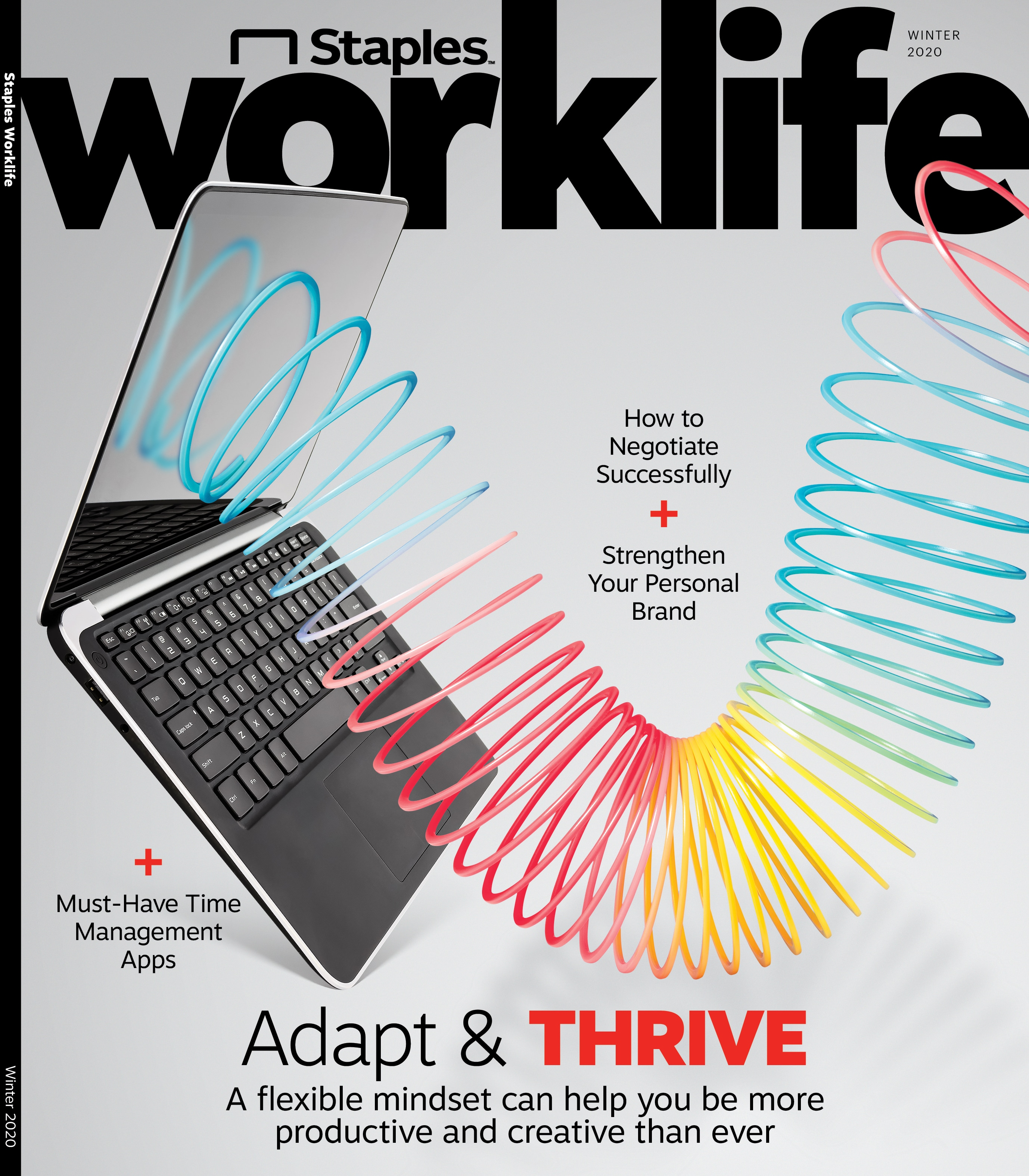 The Latest Issue of Staples Worklife.