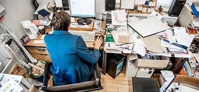 Employee Organization: Get Rid of Coworker Clutter