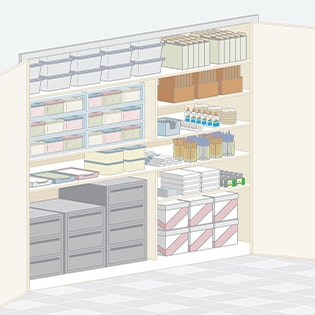 Organize Your Supply Closet Step by Step