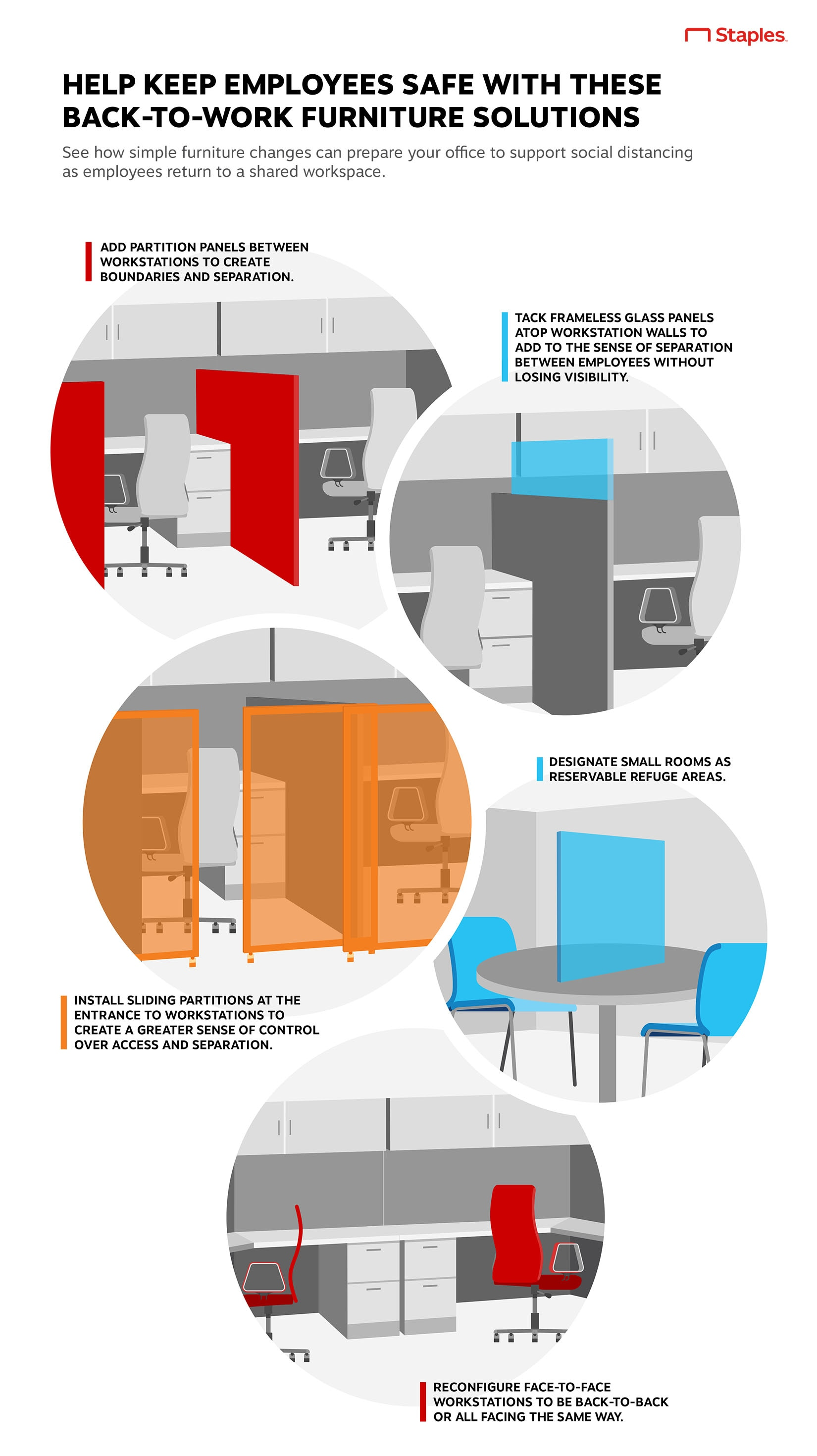 Help Keep Employees Safe With These Back-to-Work Furniture Solutions